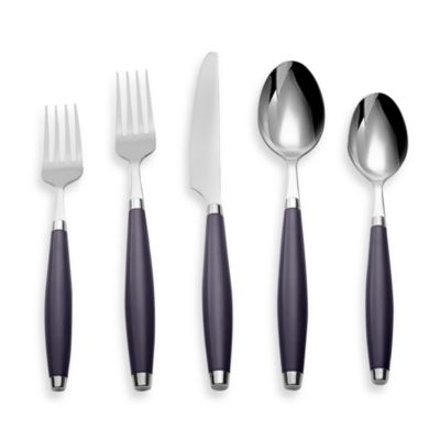 Cambridge® Silversmiths Fiesta Flatware 5-Piece Place Setting in Plum
