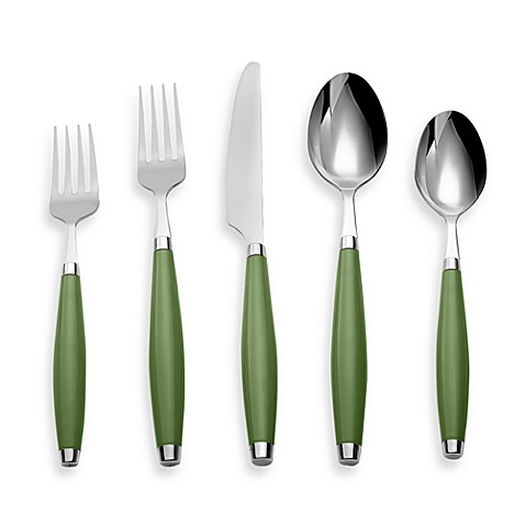 Fiesta® by Cambridge® 5-Piece Flatware Place Setting in Shamrock