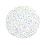 Spring Flower Cutwork Placemat