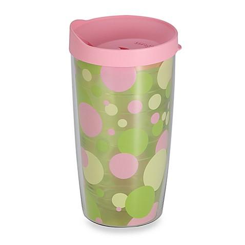 Tervis® Wrap Around 16-Ounce Tumbler in Polka Dot