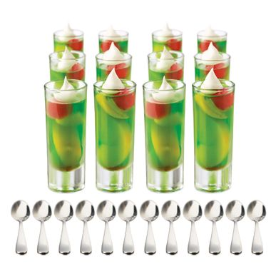 Libbey® Just Dessert 25-Piece Mini Parfait Set