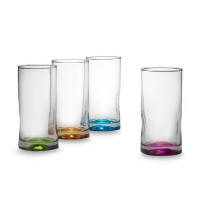 Libbey® Impressions Color 16 1/2-Ounce Highballs (Set of 4)