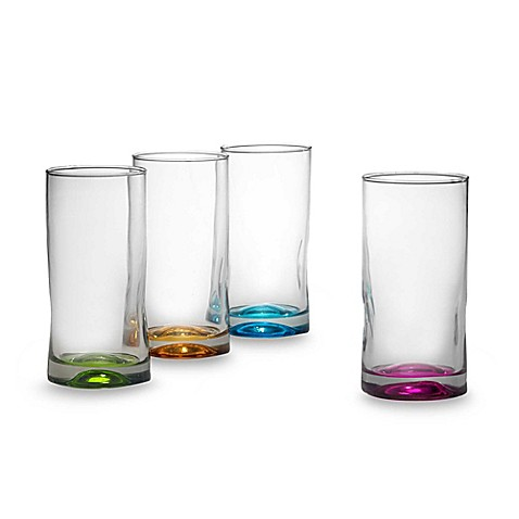 Libbey® Impressions Highball Glasses in Assorted Colors (Set of 4)