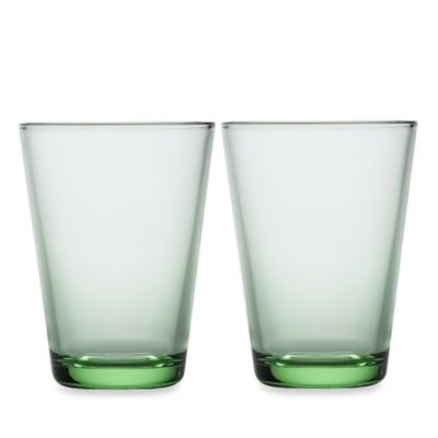 Iittala® Kartio 13 oz. Large Tumbler in Apple Green (Set of 2)