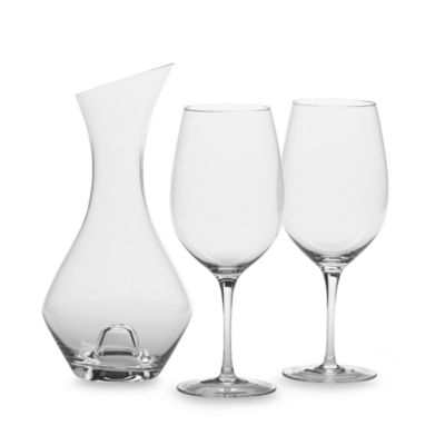 Crystal Wine Glasses Gift Set