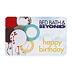 Happy Birthday Balloons Gift Card $25.00