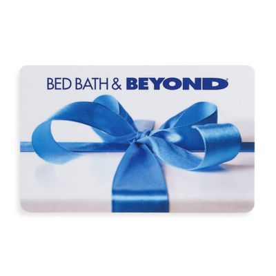 Gift with Blue Bow Gift Card $50