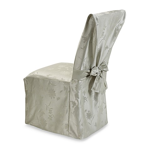 Spring Meadow Damask Dining Room Chair Cover - Pistachio