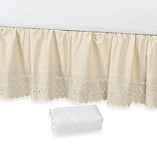 Vintage Chic™ Eyelet 14-Inch Bed Skirt