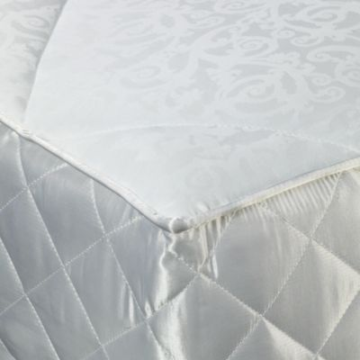 Jacquard Scroll Twin Mattress Pad
