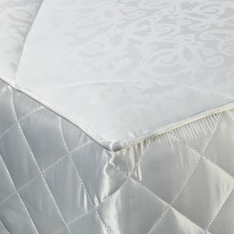 Southern Living® Jacquard Scroll Mattress Pad - King
