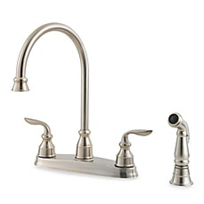 Price Pfister® Avalon Dual Control Kitchen Faucet in Stainless Steel