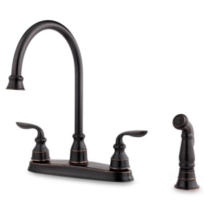 Price Pfister® Avalon Dual Control Kitchen Faucet in Tuscan Bronze