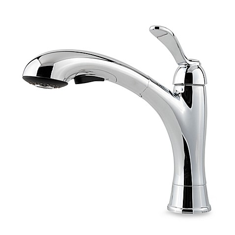 Price Pfister® Clairmont Pull-Down Kitchen Faucet in Polished Chrome