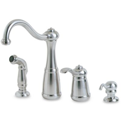 Price Pfister® Marielle Kitchen Faucet in Stainless Steel