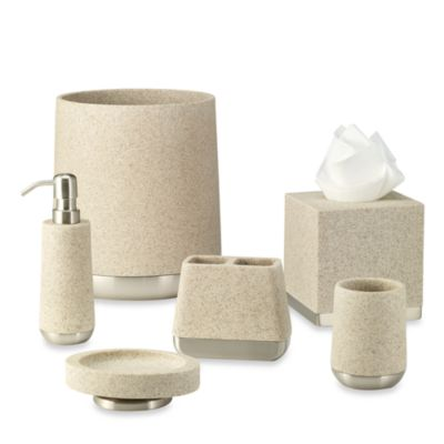 Ampersand® Lafayette Boutique Tissue Holder in Taupe
