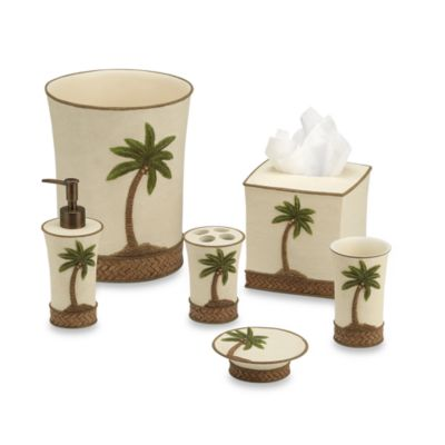 Tommy Bahama® Island Song Wastebasket