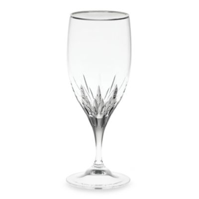 Vera Wang Wedgwood® Duchesse Platinum Crystal 14-Ounce Iced Beverage Glass