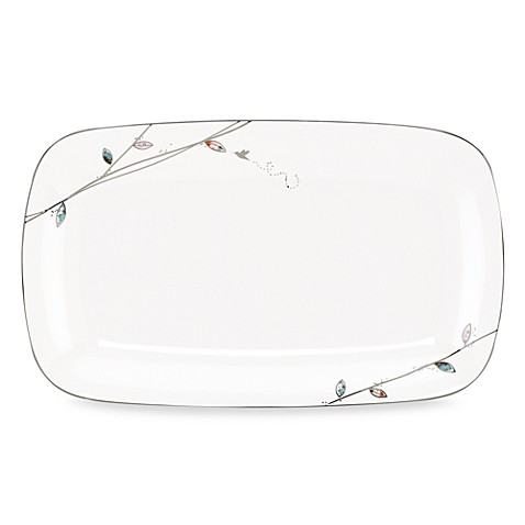 Lenox® Silver Song Large Serving Platter