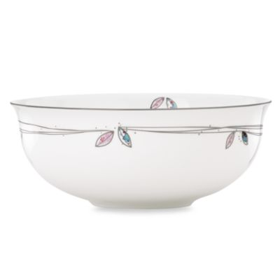 Lenox® Silver Song Serving Bowl
