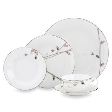 Lenox® Silver Song 5-Piece Place Setting