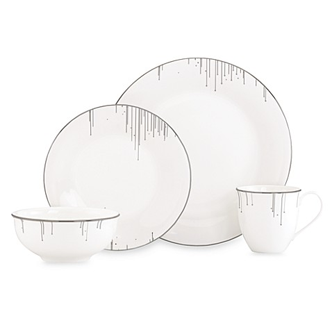 Lenox® Platinum Ice 4-Piece Place Setting