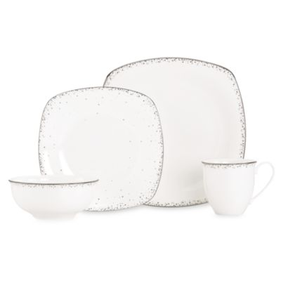 Lenox® Silver Mist 4-Piece Dinnerware Set