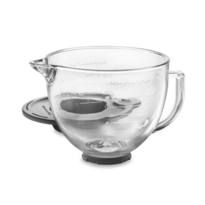 Kitchen Aid® Glass Bowl for 5-Quart Artisan and Tilt-Head Stand Mixers