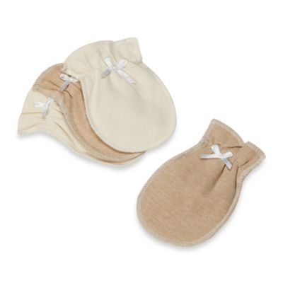 Organic Cotton Mittens in 2 Pairs