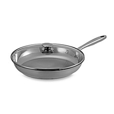 Wolfgang Puck® Gourmet Collection Stainless Steel 12-Inch Covered Omelet Pan