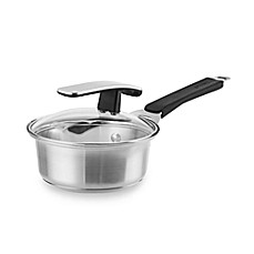 Pyrex® Stainless Steel 1-Quart Covered Saucepan
