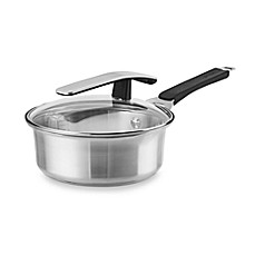 Pyrex® Stainless Steel 2-Quart Covered Saucepan