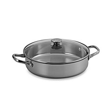 Wolfgang Puck® Gourmet Collection Stainless Steel 4 1/2-Quart Covered Casserole