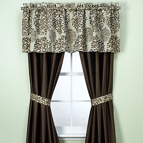 Dana Window Panels and Valance