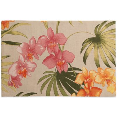Tommy Bahama® Home African Orchid Placemat
