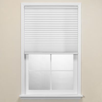 Studio 3B™ 39-Inch W x 72-Inch L Cordless Pleated Shade in White