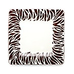Jungle Safari 9-Inch Zebra Salad Plates (Set of 4)