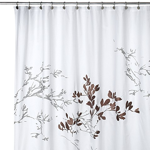 Brown And Green Shower Curtain Vintage Shower Curtains
