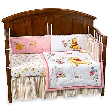 Disney Baby Sweet Pooh 4-Piece Crib Bedding Set - Bed Bath ...