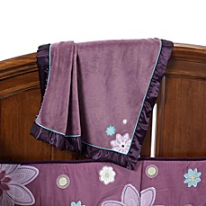 NoJo® Plum Dandy Coral Fleece Blanket
