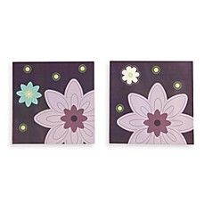 NoJo® Plum Dandy 3-Piece Wall Art