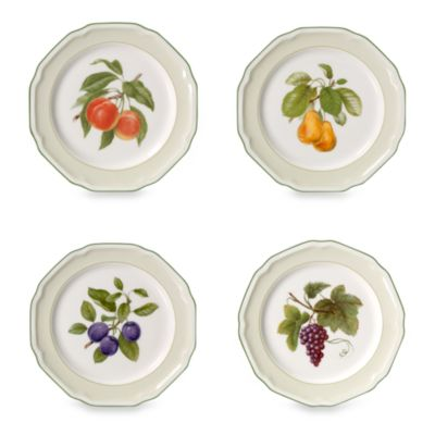 Mikasa® Antique Orchard 8 1/2-Inch Accent Plates (Set of 4)