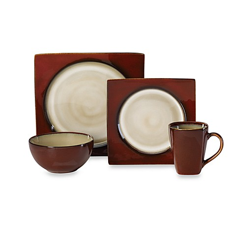 Mikasa® Solstice Ruby 4-Piece Place Setting