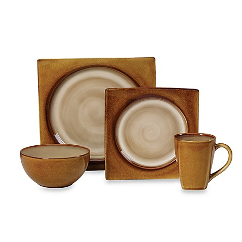 Mikasa® Solstice Amber 4-Piece Place Setting