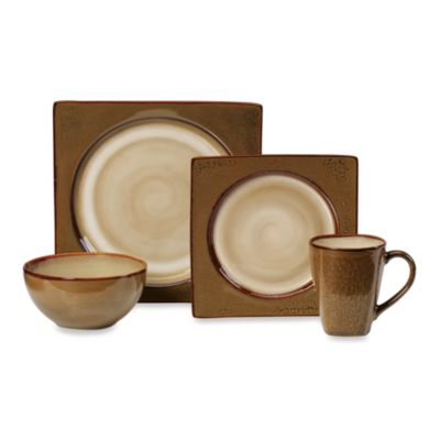 Mikasa® Solstice Terracotta 4-Piece Place Setting
