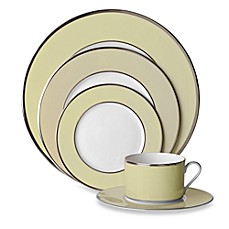 Mikasa® Color Studio Ivory and Platinum 5-Piece Place Setting