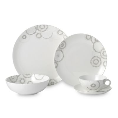 Mikasa Sparkle Circles 5-Piece Place Setting