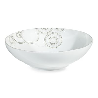 Mikasa Sparkle Circles 9-Inch Vegetable Bowl