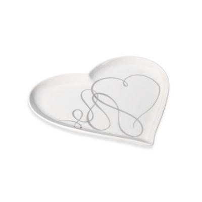 Mikasa® Love Story Heart Dessert Platter