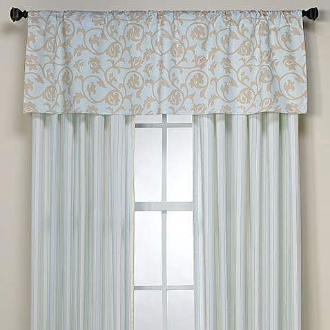 Pool Valance in Sky Khaki